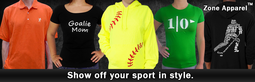 Find cool clothing for sports fans.