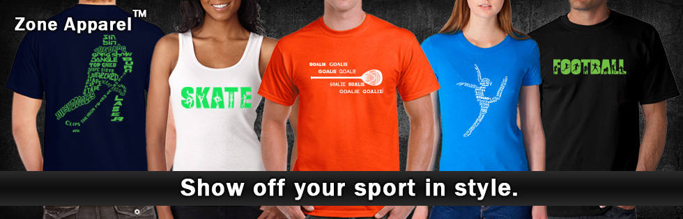 Check out our sports clothing!