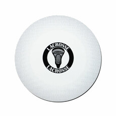 Lacrosse Ball Printed Car Magnet