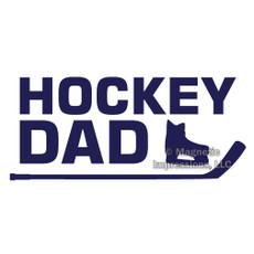 Hockey Dad Window Decal