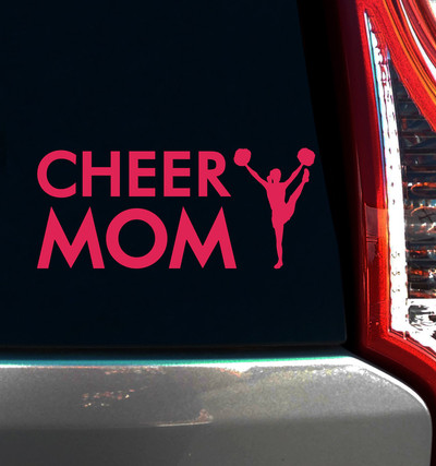 Cheer Mom Window Decal