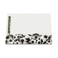 Soccer Sticky Notes
