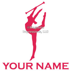 Twirler Window Decal