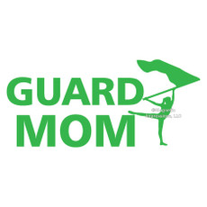 Color Guard Mom Window Decal