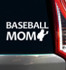 Baseball Mom Catcher Window Decal