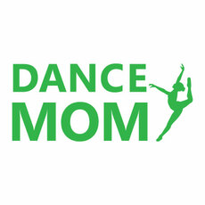 Dance Mom Jazz Window Decal