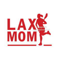 Lax Mom Female Window Decal