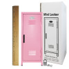 Mini Locker Pink. Ruler not included.