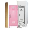Mini Locker Pink. Ruler not included.