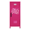 Field Hockey Mini Locker Hot Pink