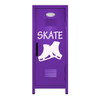 Figure Skating Mini Locker Purple