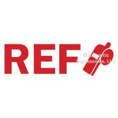 Referee Window Decal