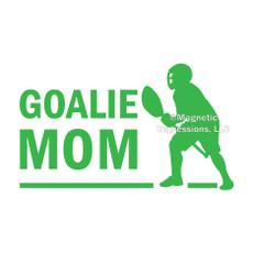 Lax Goalie Mom Male Window Decal