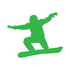 Snowboarder Window Decal