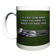 Lacrosse Goalie Mug Left Side