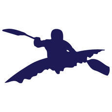 Kayak Window Decal