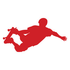 Skateboarder Window Decal