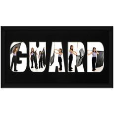 Guard 10 x 20 Photo Mat Framed