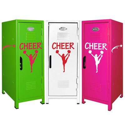 Cheerleader Mini Locker Trio