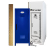 Mini Locker Blue. Ruler not included.