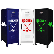 Ice Hockey Mini Locker Trio