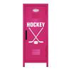 Ice Hockey Mini Locker Hot Pink