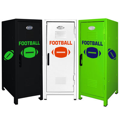 Football Mini Locker Trio
