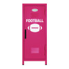Football Mini Locker Hot Pink