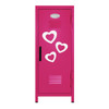 Hearts Mini Locker Hot Pink