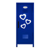Hearts Mini Locker Blue