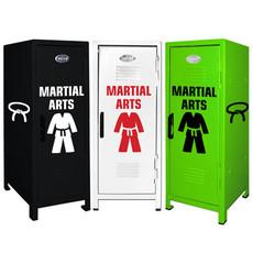 Martial Arts Mini Locker Trio