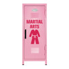Martial Arts Mini Locker Pink