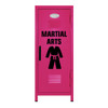 Martial Arts Mini Locker Hot Pink
