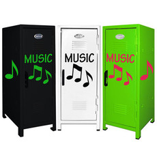 Music Note Mini Locker Trio