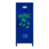 Music Note Mini Locker Blue