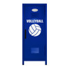 Volleyball Mini Locker Blue
