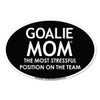 Goalie Mom Car Magnet