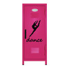 Dancer Leap Mini Locker Hot Pink