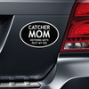 Catcher Mom Car Magnet on car