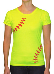 Women's Softball T-Shirt – Crew Laces