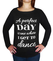 Women's Perfect Day Long Sleeved Shirt in Black