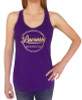 Women's Lacrosse Tank Top with Foil in Purple and Gold