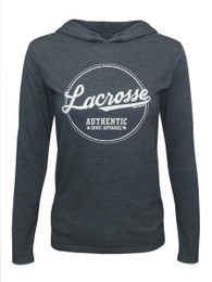 Women's Lacrosse Authentic Hoodie T-Shirt