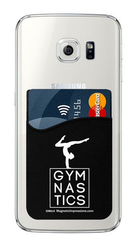 Gymnastics – Gymnast Stag Cell Phone Wallet. Phone and cards not included.
