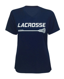 Women's Lacrosse Stick Performance T-Shirt