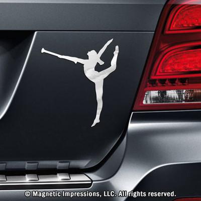 Twirler Car Magnet - Custom field hockey car magnets