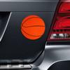 Basketball Printed Car Magnet on Car