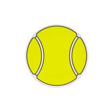 Tennis Ball Printed Car Magnet