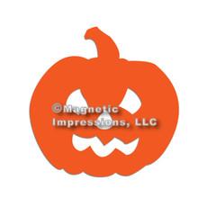 Jack-O-Lantern Halloween Car Magnet