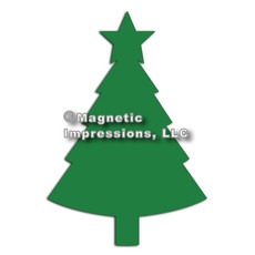 Christmas Tree Car Magnet
